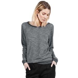 Everlane Heathered Crewneck Sweatshirt Pullover